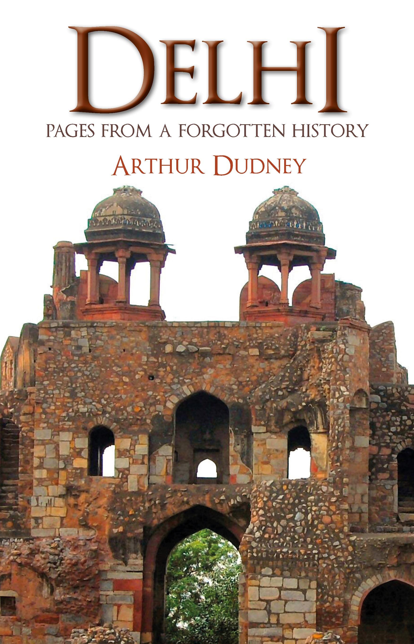 Delhi book cover